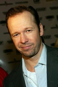 Donnie Wahlberg at the soundtrack release party for