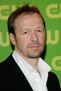 Donnie Wahlberg at the CW Television Network Upfront.