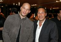 Vin Diesel and Henry Winterstern at the DVD release party of