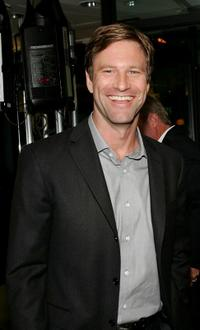 Aaron Eckhart at the after party of the premiere of