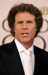Will Ferrell at the 64th Annual Golden Globe Awards.