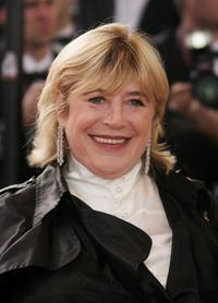 Marianne Faithfull at the premiere of