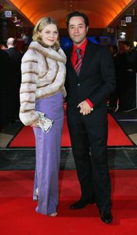 Anna Loos Liefers and Jan Josef Liefers at the Diva Awards.