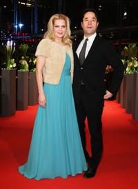 Anna Loos Liefers and Jan Josef Liefers at the premiere of