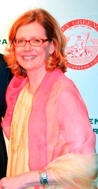 Kristine Sutherland at the Barney Greengrass celebration of 100 years.