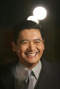 Chow Yun-Fat at the Los Angeles world premier of