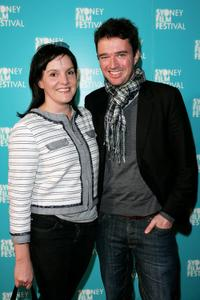 Matt Day and Guest at the premiere of