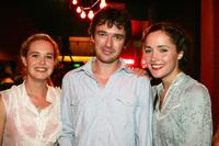 Prue Boylan, Matt Day and Rose Byrne at the opening night of Kate Mulvany's