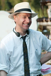 Director, executive producer Paul Feig on the set of
