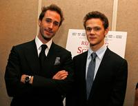 Joseph Fiennes and Joseph Cross at the world premiere of