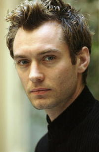 Jude Law at a photocall in Italy for