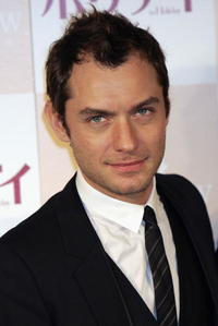 Jude Law at a photocall and press conference for
