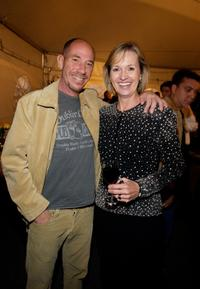 Miguel Ferrer and American Humane executive Marie Wheatley at the opening night of