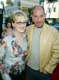 Miguel Ferrer and Meryl Strep at the Los Angeles Premiere of