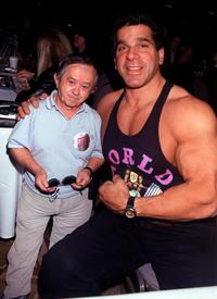 Lou Ferrigno and Felix Silla at the Hollywood Collectors and Celebrity Show.