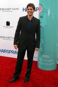 "James Marsden at the premiere of ""Hairspray"" in Westwood, California."