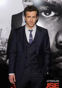 Ryan Reynolds at the New York premiere of