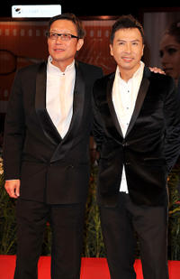 Director Andrew Lau and Donnie Yen at the premiere of