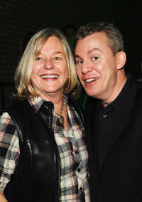 Maxine Makover and Travis Fine at the Heineken Wrap party during the 2012 Tribeca Film Festival in New York.