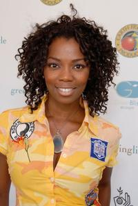 Vanessa A. Williams at the Green Living gifting lounge.
