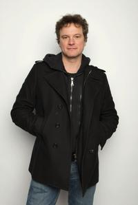 Colin Firth poses for a portrait at the Miners Club during the 2008 Sundance Film Festival.