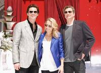 Jim Carrey, Robin Wright Penn and Colin Firth at the photocall of