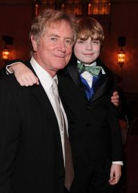Randall Wallace and Jacob Rhodes at the after party of the premiere of