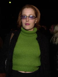 Gillian Anderson at the premiere of