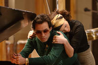 Marc Anthony and Jennifer Lopez in