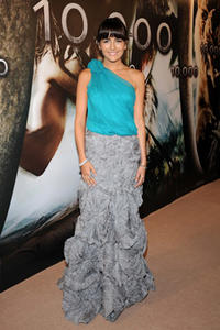 Actress Camilla Belle at the Madrid premiere of