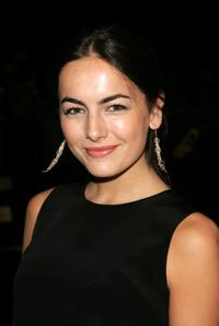 Camilla Belle at the Oscar De La Renta Fall 2007 fashion show during the Mercedes-Benz Fashion Week.