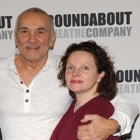 Frank Langella and Maryann Plunkett at the rehearsals of
