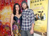 Frankie Shaw and Mark Webber at the after party of the New York premiere of