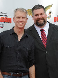Chris Sanders and Dean Deblois at the premiere of