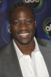 Adewale Akinnuoye-Agbaje at the ABC Winter Press Tour All Star Party.