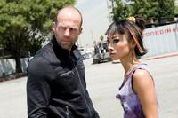 Jason Statham as Chev Chelios and Bai Ling as Ria in