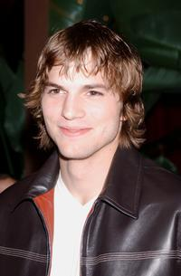Ashton Kutcher at the party to celebrate the New Yorkers for Children's