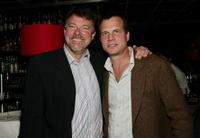 Jonathan Frakes and Bill Paxton at the Working Title Films 20th Anniversary party during the Tribeca Film Festival.