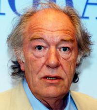 Michael Gambon at the Ireland press conference of