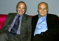 Ben Gazzara and Michael Kahn at the Lit By Lightning: Tennessee Williams Today panel at Tribeca Theater Festival.