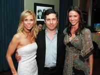 Cheryl Hines, Chris Parnell and Shannon Elizabeth at the after party of the premiere of