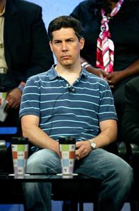 Chris Parnell at the panel discussion for