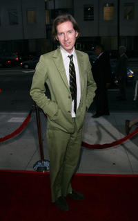 Wes Anderson at the California premiere of