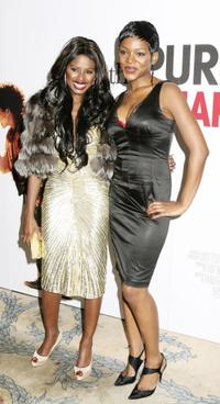 June Sarpong and Caroline Chikezie at the UK premiere of