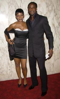 Caroline Chikezie and Guest at the Screen Nation Film and Television Awards 2003.