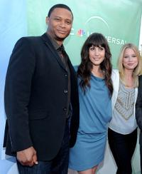 David Ramsey, Carly Pope and EllenWoglom at the NBC Universal's 2010 TCA Summer party.
