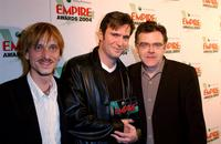 Mackenzie Crook, Jack Davenport and Kevin McNally at the Sony Ericsson Empire Film Awards.