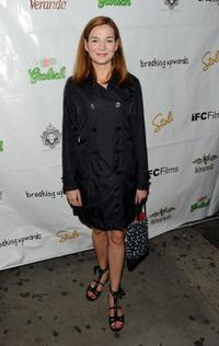 Heather Burns at the premiere of