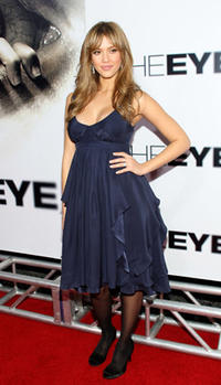 Actress Jesscia Alba at the Hollywood premiere of