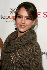 Jessica Alba at the Step Up Women's Network toast in L.A.
